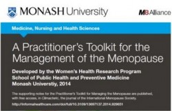 practitioner toolkit for managing menopause