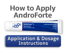 how to apply AndroForte